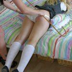 deculottage fessee - panties down spanking